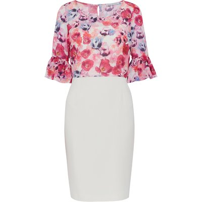 Hermila Dress With Floral Overtop