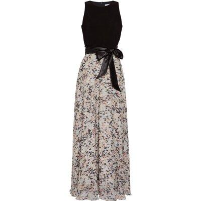 Scilla Chiffon And Jersey Maxi Dress