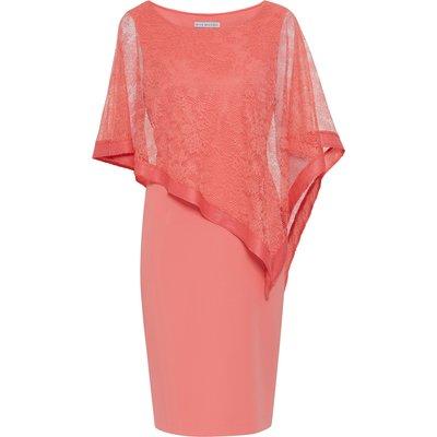 Carlotta Lace Cape Dress