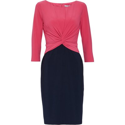 Lorissa Jersey Colour Block Dress