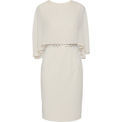 Vickie Moss Crepe Dress