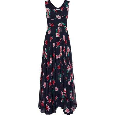 Edana Floral Chiffon Maxi Dress