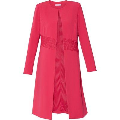 Tamina Moss Crepe Coat