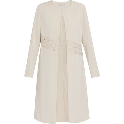 Lacey Moss Crepe Coat