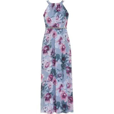 Kinia Floral Chiffon Maxi Dress