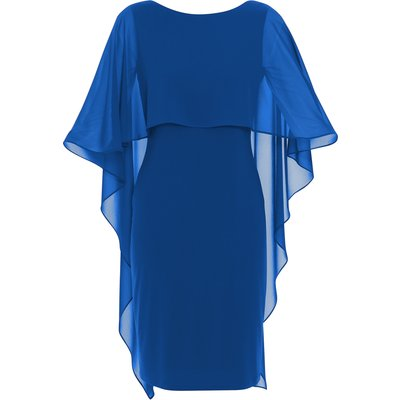 Kaisa Dress With Chiffon Cape