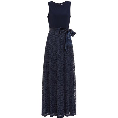 Marge Jersey And Lace Dress