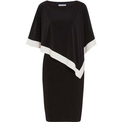 Sayuri Jersey Cape Dress