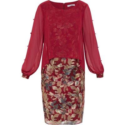 Gianina Chiffon And Embroidery Dress