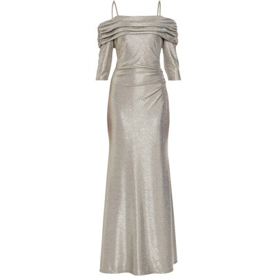 Hosanna Metallic Maxi Dress