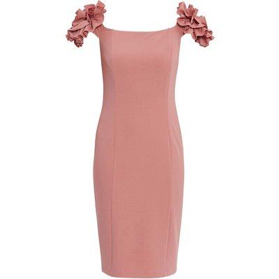 Bretta Stretch Crepe Dress