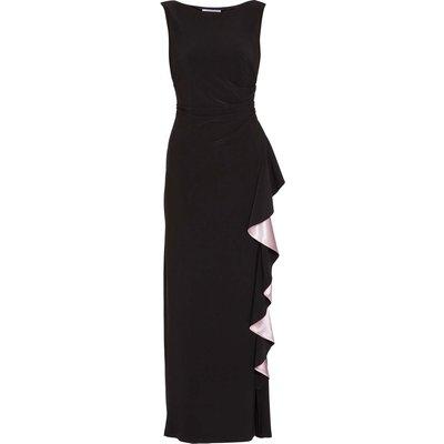 Lockie Jersey Maxi Dress With Frill