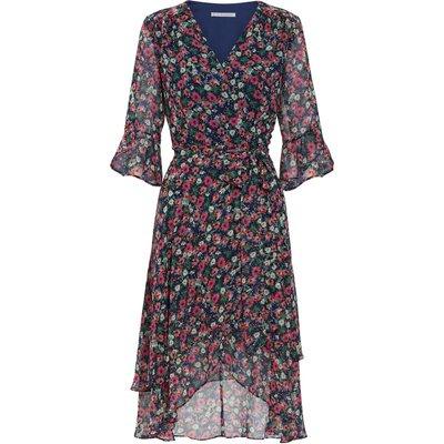 Lerina Floral Chiffon Dress
