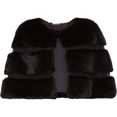 Lilias Faux Fur Cape