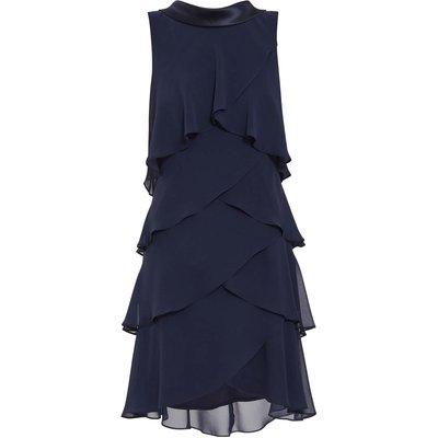 Halona Tiered Chiffon Dress
