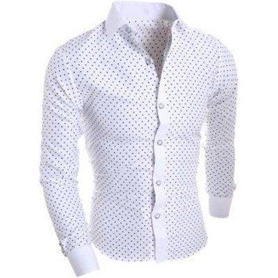 Star Print Long Sleeve Shirt