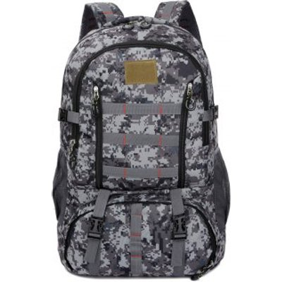FLAMEHORSE 60L Large Outdoor Camouflage Mountaineer Bag Large Backpack Camp Field Pack
