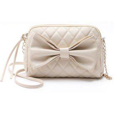 Chain Sweet Women Crossbody Bags Sweet Lady Big Bow Handbag Shoulder Bags
