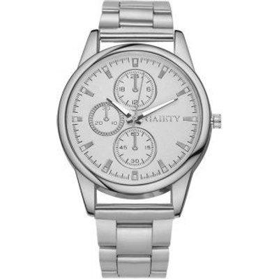 GAIETY G109 Fashion Classic Women Luxury Casual Watch Women, Silver