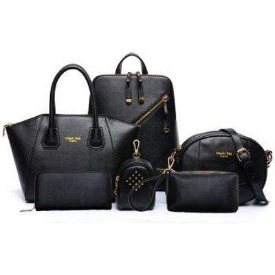 Six Pieces of New Backpack Shoulder Messenger Bag Handbag
