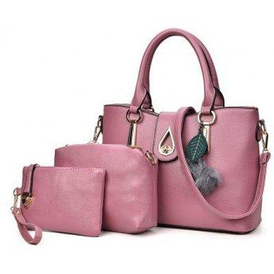 Simple Ladies Hair Ball Pendant Portable Shoulder Messenger Bag