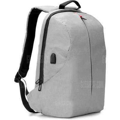 K9080W - B Multipurpose Backpack with Built-in USB Cable
