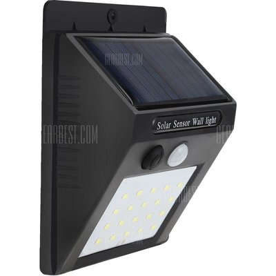 Motion Sensor Solar Light for Corridor Hallway Courtyard