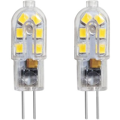 BRELONG G4 12LED -2835 PC AC12 DC12 V Corn Light 2PCS