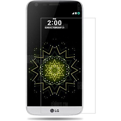 2PCS Screen Protector for LG G5 High Sensitivity Clear Premium Tempered Glass