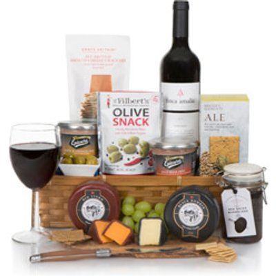 Luxury Wine Cheese & Pate Hamper