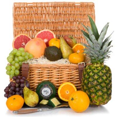 Luxury Fruit Basket Hamper