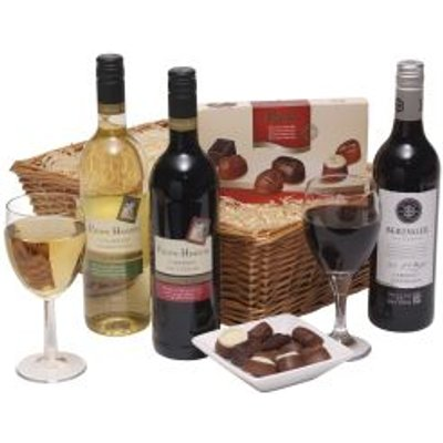 Californian Wine Trio With Chocs