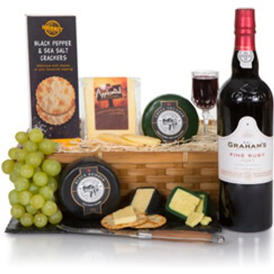 Luxury Port & Cheese Hamper