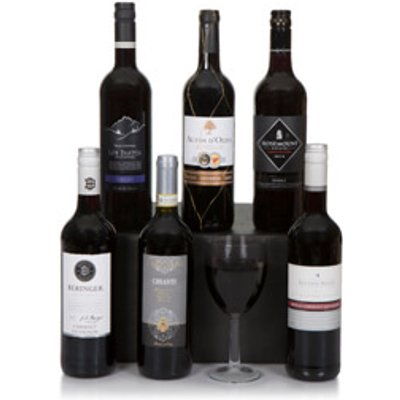 Six Bottle Red Wine Selection