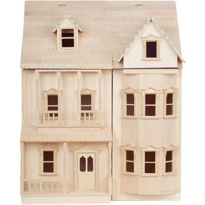 The Ashburton Ready to Assemble Dolls House - DH001