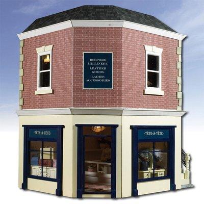 The Corner Shop 1:12 Scale Dolls House Kit - The Corner Shop (both Parts 1 & 2) - CSK