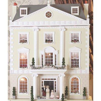 Grosvenor Hall Unpainted Dolls House by Dolls House Emporium - Grosvenor Hall & Basement - DHE173969