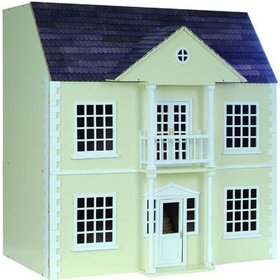 Newnham Manor 1:12 Scale Dolls House - Painted Pink Newnham Manor - DH033PP
