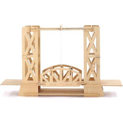 Pathfinders Lift Bridge Educational Wood Kit - 26731