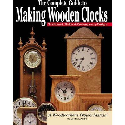 Making Wooden Clocks - Book - HB57