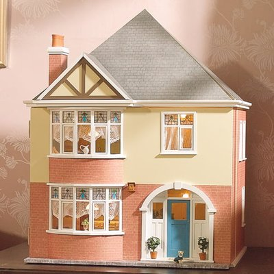 Mountfield Dolls House Kit by Dolls House Emporium Unpainted Easy-to-Build - 2600
