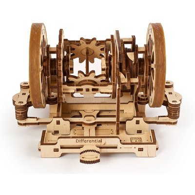 UGears Differential Educational Wooden Kit - U70132