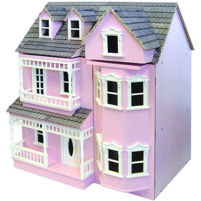Exmouth Ready To Assemble Dolls House - Exmouth Painted Cream - DH024P