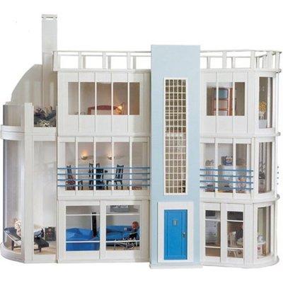 Malibu Beach House Kit and Sun Lounge Kit from Dolls House Emporium - Malibu Beach House Kit Unpainted - 0909