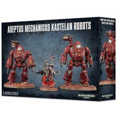 WARHAMMER ADEPTUS MECHANICUS KASTELAN ROBOTS - 99120116019