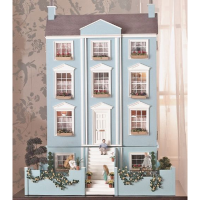 The Classical Georgian Dolls House Kit by Dolls House Emporium Unpainted - 1119