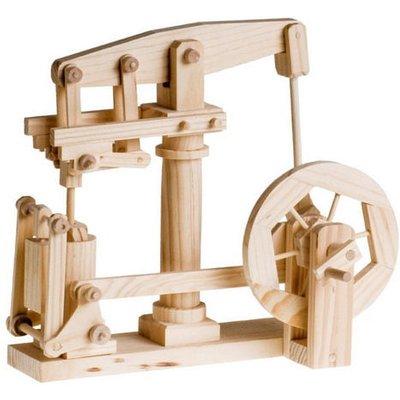 Timberkits Beam Engine Automation Educational Timber Wood Kit - Beam Engine Timberkits - TK/32