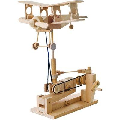 Timberkits Bi-Plane Educational Wood Timber Automation Kit - TK/43
