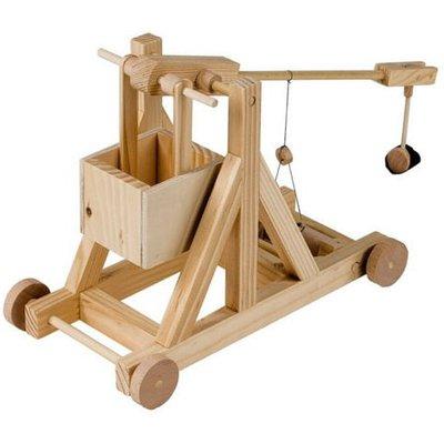Timberkits Trebuchet Educational Timber Wood Automation Kit - Trebuchet - TK/9