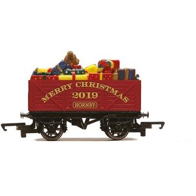 Hornby Christmas Plank Wagon, 2019 - R6932
